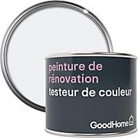 Testeur peinture de rénovation GoodHome blanc North Pole mat 70ml