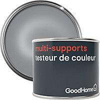 Testeur peinture de rénovation multi-supports GoodHome argent Beverly Hills métallisé 70ml