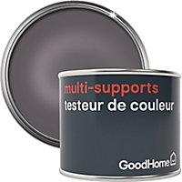 Testeur peinture de rénovation multi-supports GoodHome argent Pasadena métallisé 70ml