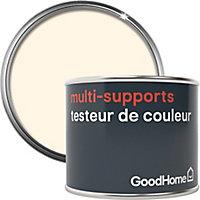 Testeur peinture de rénovation multi-supports GoodHome blanc Juneau satin 70ml