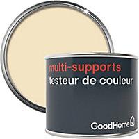 Testeur peinture de rénovation multi-supports GoodHome blanc Toronto satin 70ml