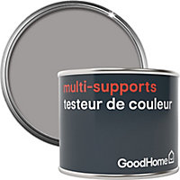Testeur peinture de rénovation multi-supports GoodHome gris Long Island satin 70ml