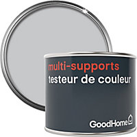 Testeur peinture de rénovation multi-supports GoodHome gris Melville satin 70ml