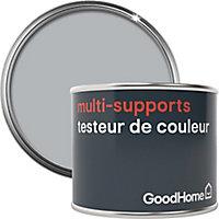 Testeur peinture de rénovation multi-supports GoodHome gris Tucson satin 70ml