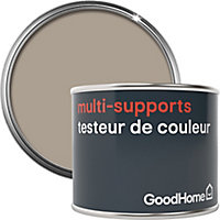 Testeur peinture de rénovation multi-supports GoodHome marron Baracoa satin 70ml