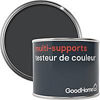 Testeur peinture de rénovation multi-supports GoodHome noir Liberty satin 70ml
