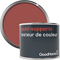 Testeur peinture de rénovation multi-supports GoodHome rouge Fulham satin 70ml