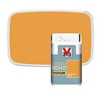 Testeur peinture de rénovation multi-supports V33 Easy Reno jaune miel satin 2L