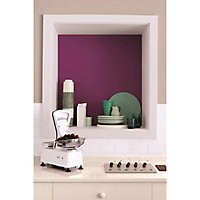 Testeur peinture murs et boiseries Dulux Valentine Crème de couleur prune satin 30ml