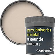 Testeur peinture résistante murs, boiseries et métal GoodHome beige Buenos Aires mat 50ml