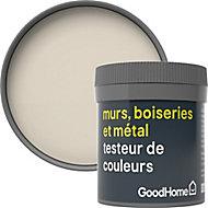 Testeur peinture résistante murs, boiseries et métal GoodHome beige Cancun mat 50ml