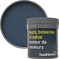 Testeur peinture résistante murs, boiseries et métal GoodHome bleu Vence mat 50ml