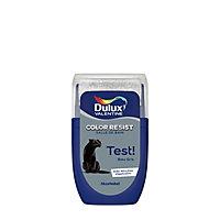 Testeur peinture salle de bains Dulux Valentine bleu gris satin 30ml