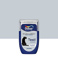 Testeur peinture salle de bains Dulux Valentine gris miroir satin 30ml