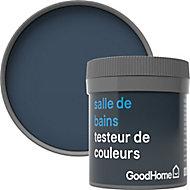 Testeur peinture salle de bains GoodHome bleu Vence satin 50ml