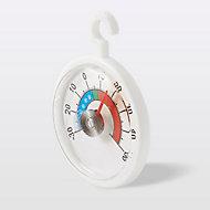 Thermomètre analogique pour réfrigérateurs Terdens blanc
