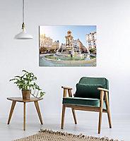 Toile fontaine Lyon 60 x 80 cm