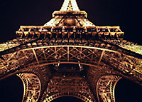 Toile Paris Eiffel View 60 x 80 cm