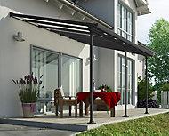 Toit Couv'Terrasse® 3 x 6 m gris