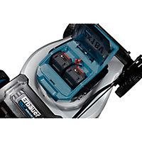 Tondeuse sans fil sur batterie tractée 36 V Erbauer 46 cm (avec 2 batteries et chargeur)