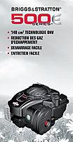 Tondeuse thermique tractée 140 cc Mac Allister MLMP500SP46-2 46 cm, Moteur Briggs & Stratton 500E