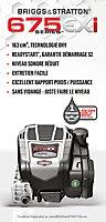 Tondeuse thermique tractée 163 cc Mac Allister MLMP675SP51-3 51 cm, Moteur Briggs & Stratton 675EXi