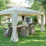 Tonnelle Blooma Cabris 4,25 x 3m taupe