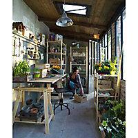 Tréteau architecte en pin 70 x 70/90 cm