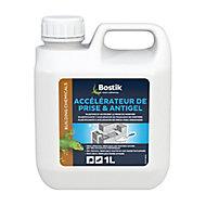 Traitement Bostik Accélérateur de Prise et Antigel pour Ciment et Mortier 1L