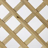 Treillis arche en pin 90 x h.180 cm