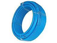 Tube PER nu bleu Ø.12 mm 15 m