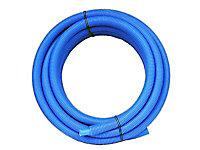 Tube PER prégainé bleu Ø.12 mm 15 m