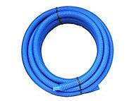 Tube PER prégainé bleu Ø.12 mm 25 m