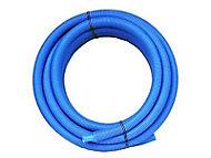 Tube PER prégainé bleu Ø. 16 mm 15 m