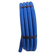 Tube PER prégainé bleu Ø.16 mm 50 m