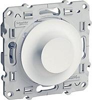 Variateur mécanique Schneider electric Odace Blanc
