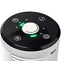 Ventilateur colonne FTP6-E-2 BLYSS oscillation à 65° 3vitesses blanc