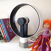 Ventilateur de table USB Airain blanc
