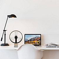 Ventilateur de table USB Airain champagne
