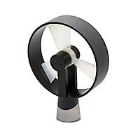 Ventilateur de table USB Airain noir