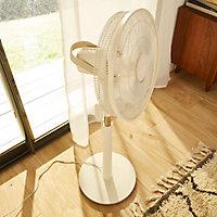 Ventilateur sur pied GoodHome Carrao ø 41.5 cm