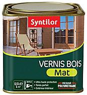Vernis BSC Ton chêne clair Mat Syntilor - 0.5 L