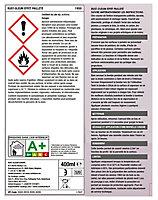 Vernis de protection en bombe aérosol Rust-Oleum effet pailleté or 400ml
