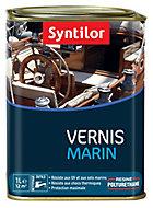 Vernis marin bois intérieur/extérieur Syntilor ambre satin 1L