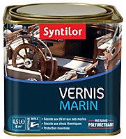 Vernis marin bois intérieur/extérieur Syntilor chêne clair satiné 0,5L