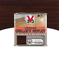 Vernis meubles et boiseries V33 Brillant reflet wengé brillant 0,5L