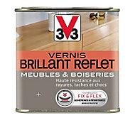 Vernis meubles et boiseries V33 incolore brillant 1L