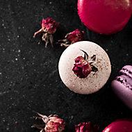 Verre imprimé Glassart macarons et roses 30x30cm