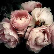 Verre imprimé Glassart romantic flower 30x30cm