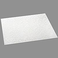 Verre synthétique cristal bulle 50 x 50cm ép.2,5mm